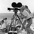 Photographers Filming An Event by Underwood Archives