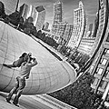 Photographing The Bean - Cloud Gate - Chicago by Nikolyn McDonald