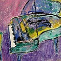 Piano Green by Anita Burgermeister