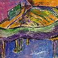 Piano Purple by Anita Burgermeister