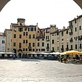 Piazza Del Mercato Lucca by Christiane Schulze Art And Photography