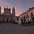 Piazza Duomo Terrasini by William Fields