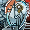 Picasso Bust by Martel Chapman