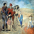 Picasso's Family Of Saltimbanques by Cora Wandel