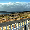 Picket Fence - Chambers Bay Golf Course by Chris Anderson