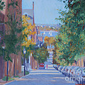 Pickney Street Fall by Candace Lovely