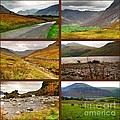 Autumn Picture Window Of The Lake District by Joan-Violet Stretch