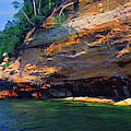 Pictured Rocks National Lakeshore, Lake by Panoramic Images
