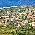 Picturesque Mediterranean Island Village Of Kolan by Brch Photography