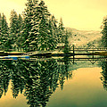 Picturesque Norway Landscape by Jeelan Clark