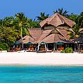 Piece Of Paradise. Maldives by Jenny Rainbow