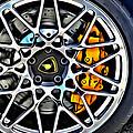Piece Of Yellow Lamborghini by Alice Gipson