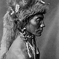 Piegan Indian Circa 1910 by Aged Pixel