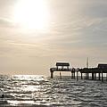 Pier 60  Near Sunset by Bill Cannon