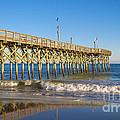 Pier At Myrtle Beach by Rima Biswas