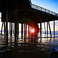 Pier At Sunset by Jeff Klingler