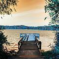 Pier At The Lake by Paul Szakacs