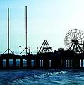 Pier Atlantic City by Eric  Schiabor