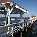 Clock Tower Pier by Christiane Schulze Art And Photography