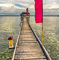Pier Flags by Adrian Evans