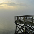 Pier In The Fog by AE Jones