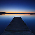 Pier On The Lake by Matteo Colombo