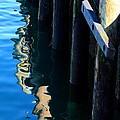 Pier Reflection by Stuart Litoff