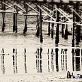 Pier Reflections by Claude LeTien