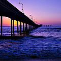 Pier Sunset Ocean Beach by Garry Gay