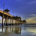 Pier Surfer  by Doug Dailey