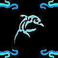 Pierced Dolphin by Brandy Nicole Neal Stenstrom