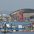 Pierhead Building In Cardiff Bay by Vicki Spindler