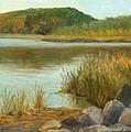 Piermont Shoreline by Phyllis Tarlow