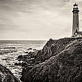 Pigeon Point Light by Heather Applegate