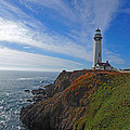Pigeon Point Lighthouse by Jacklyn Duryea Fraizer