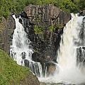 Pigeon River High Falls 2 by John Brueske