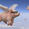 Pigs Fly 1 by Mike McGlothlen