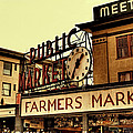 Pike Place Market - Seattle Washington by David Patterson