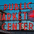 Pike Place Public Market Seattle by Steve Gadomski