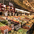 Pike Place Veggies by Spencer McDonald
