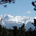 Pikes Peak After A Snowstorm by Marilyn Burton