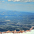 Pikes Peak Vista by Paulette B Wright