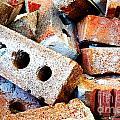Pile Of Bricks by Sylvie Bouchard
