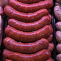 Pile Of Sausages - 5d20694 by Wingsdomain Art and Photography