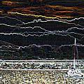 Pillar Point Harbor Below Half Moon Bay Hills by Scott Lenhart