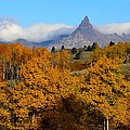 Pilot Peak In The Fall by Tranquil Light  Photography