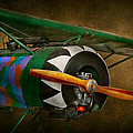 Pilot - Plane - German Ww1 Fighter - Fokker D Viii by Mike Savad