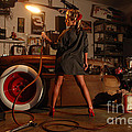 Pin Up Girl With Blow Torch by Jt PhotoDesign