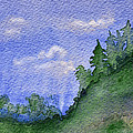 Pine Tree Hill  by Donna Blackhall