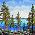 Pine Woods Lake Tahoe by Frank Wilson